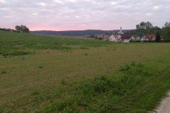 Morgenrot bei Schermau